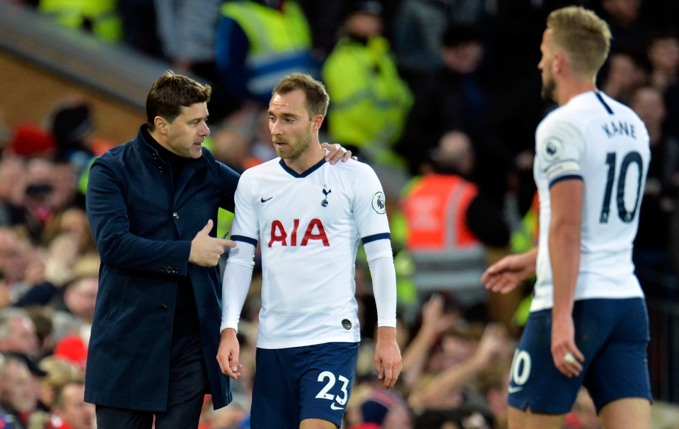 Poch seems reticent to admit Eriksen is a lost cause