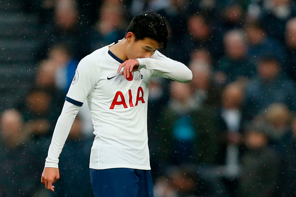 Son reluctantly embraced his role as left wing-back