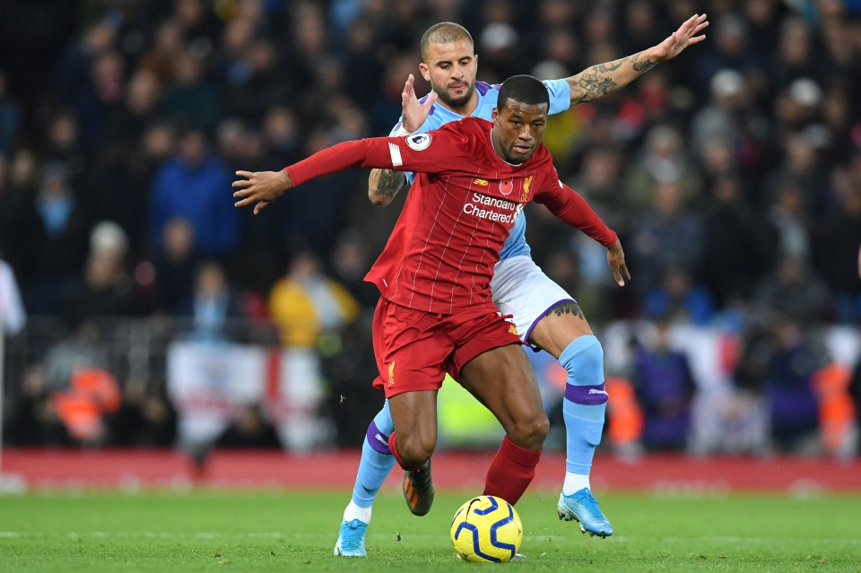 Wijnaldum is the man for the big occasion at Anfield