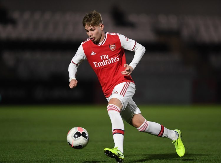 Smith Rowe started his journey at Glebe