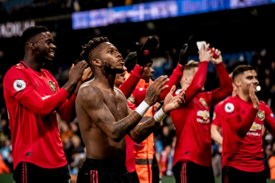 Man United did a proverbial job at the home of their bitter rivals at the weekend