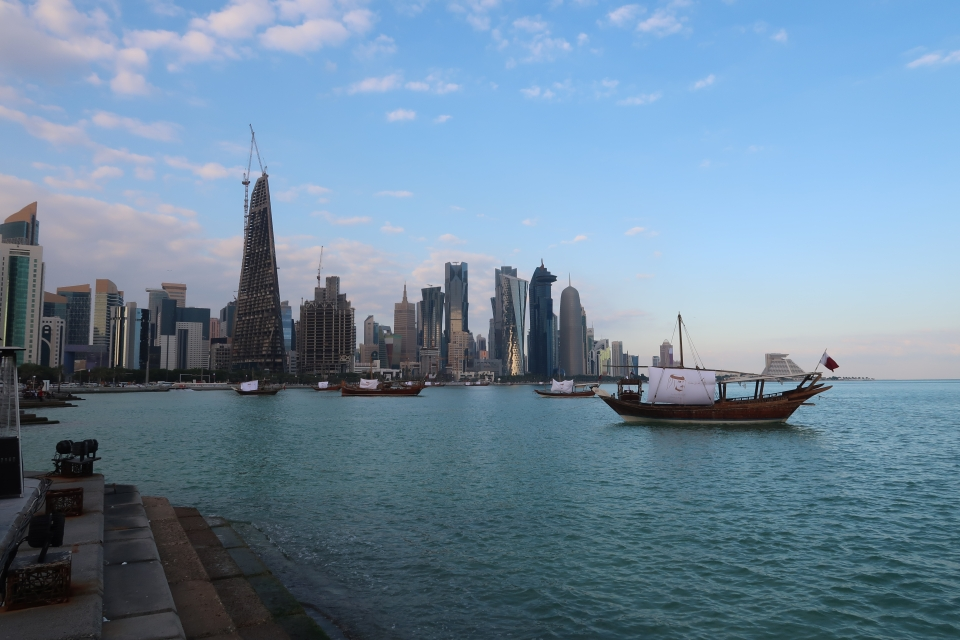 Doha's high rise skyline