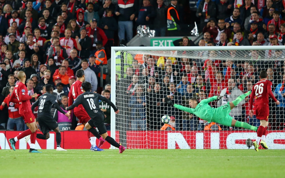 Scoring at Anfield in October