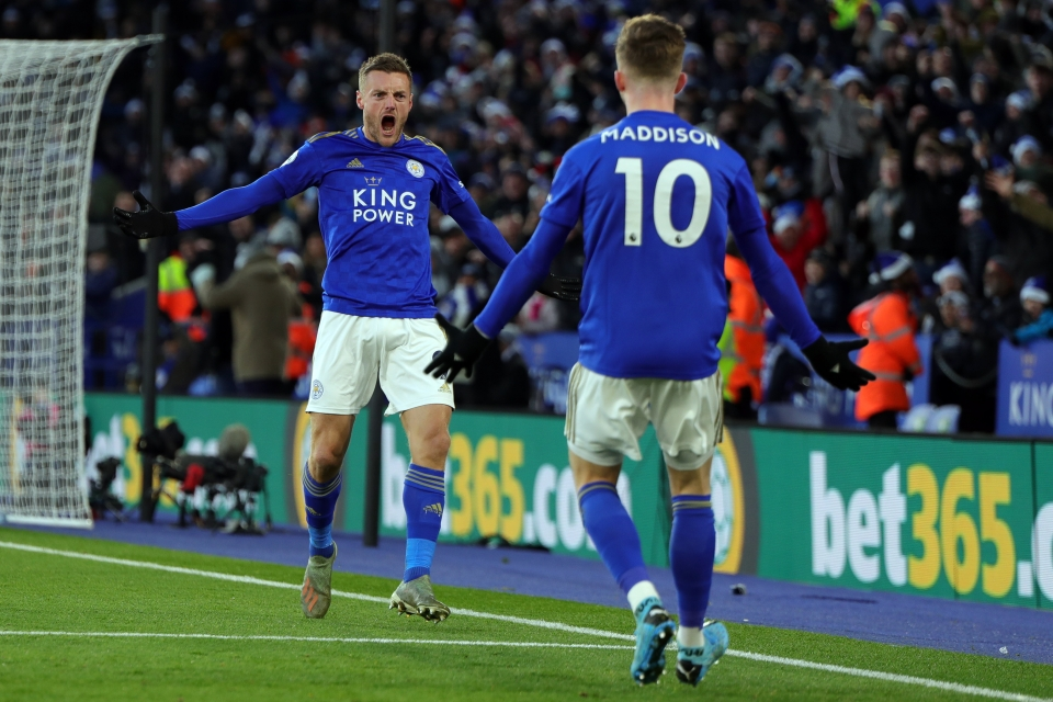 Vardy and Maddison should feature in more teams