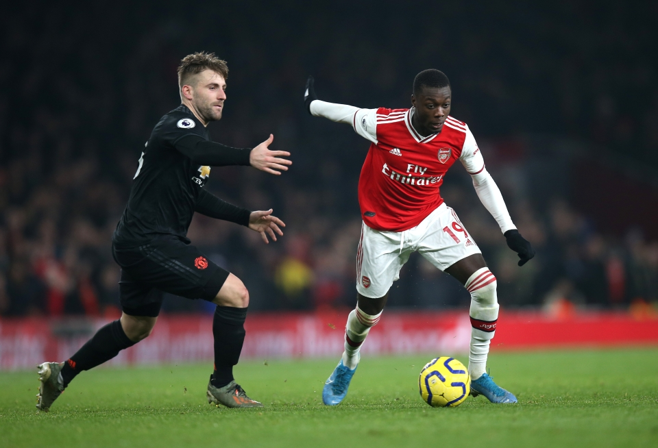 Shaw was criticised for his part in United's recent defeat to Arsenal