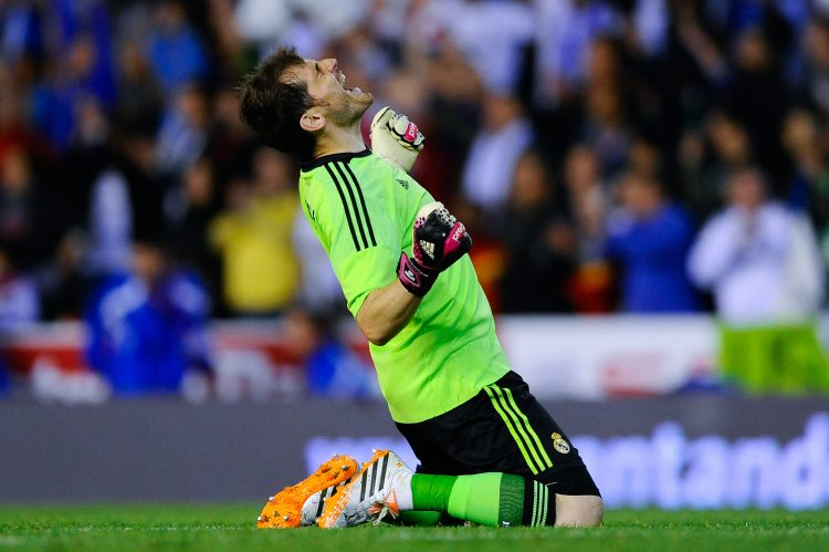 Even Casillas was booed at Real