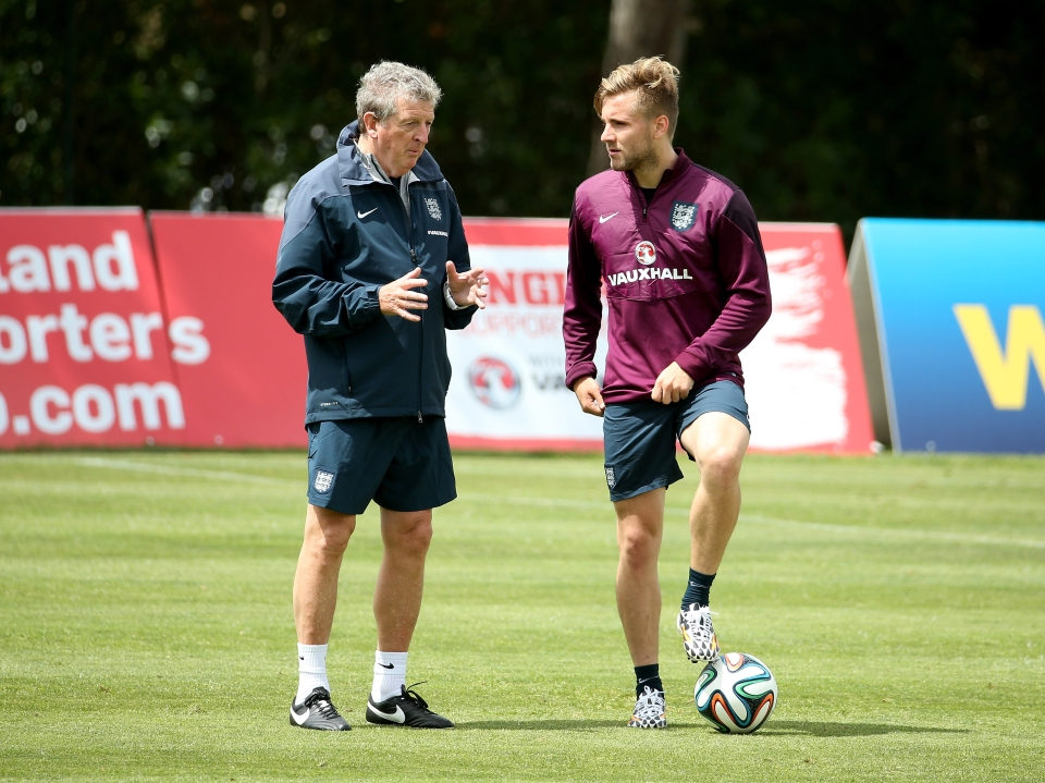Hodgson gave Shaw his England debut at the age of 18, and even started him in the World Cup dead rubber against Costa Rica
