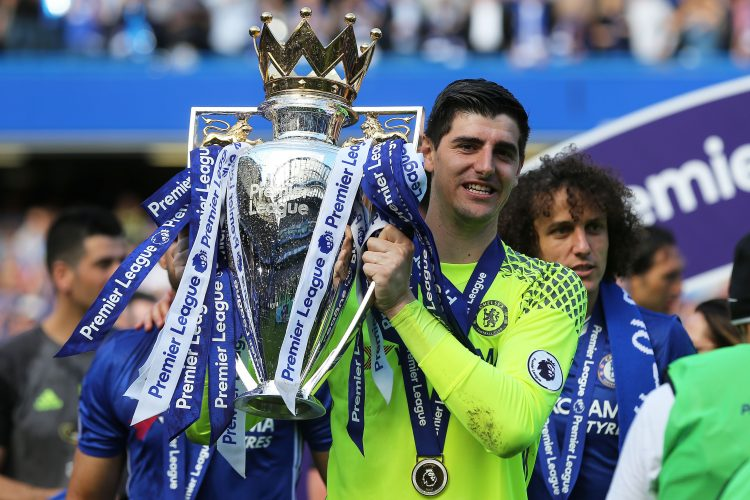 Courtois won the Golden Glove in 2017 to add to the Premier League