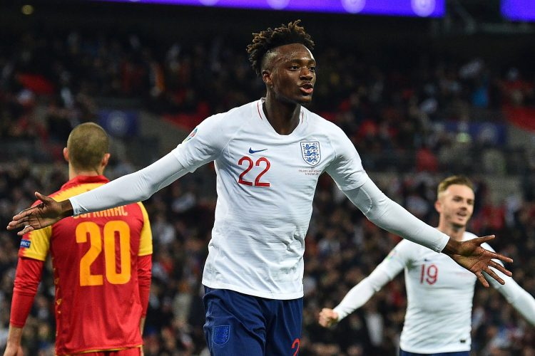 Abraham is a front-runner for the England squad