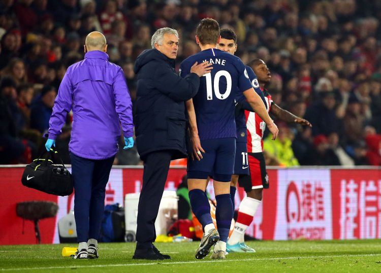 Kane faces a long spell on the touchline