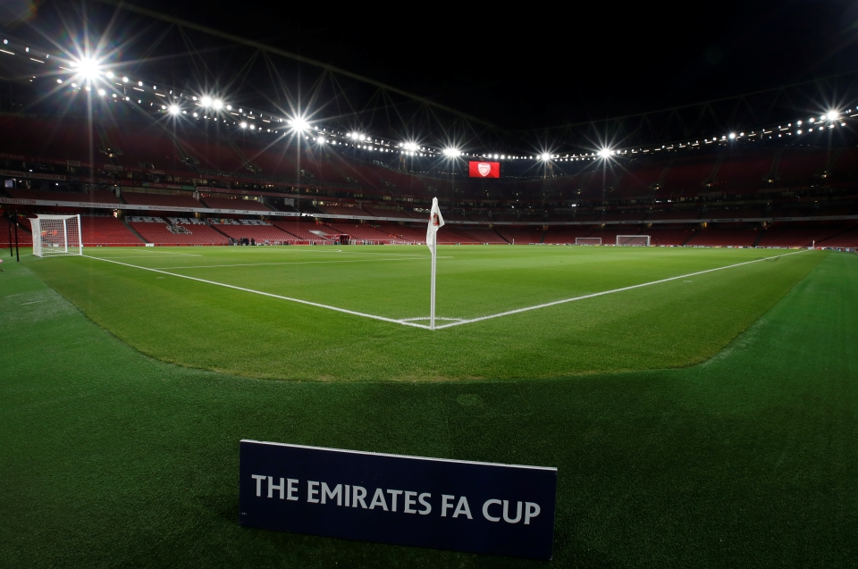 The final tie of the third round takes place at the Emirates this evening