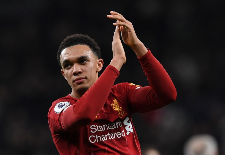 TAA is surely a starter for England in the summer