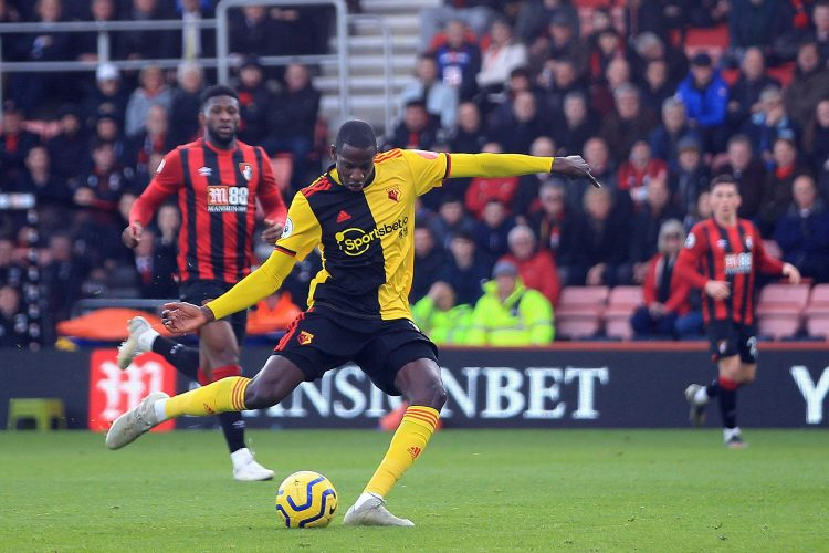 Who in their right mind picks Doucoure to score first?