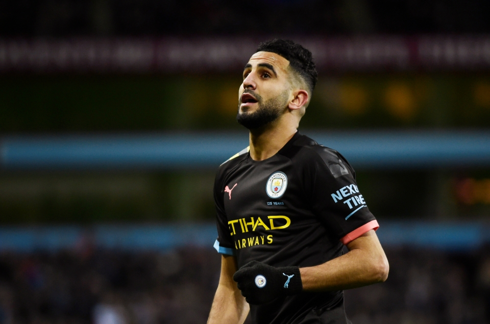 Mahrez was the final scorer to seal the deal