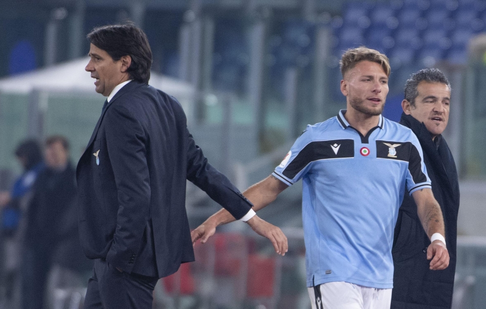 Immobile has been central to Lazio's rise this season