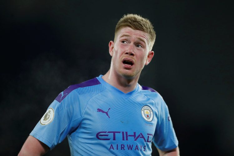 De Bruyne will surely win one before his time in the Premier League is up