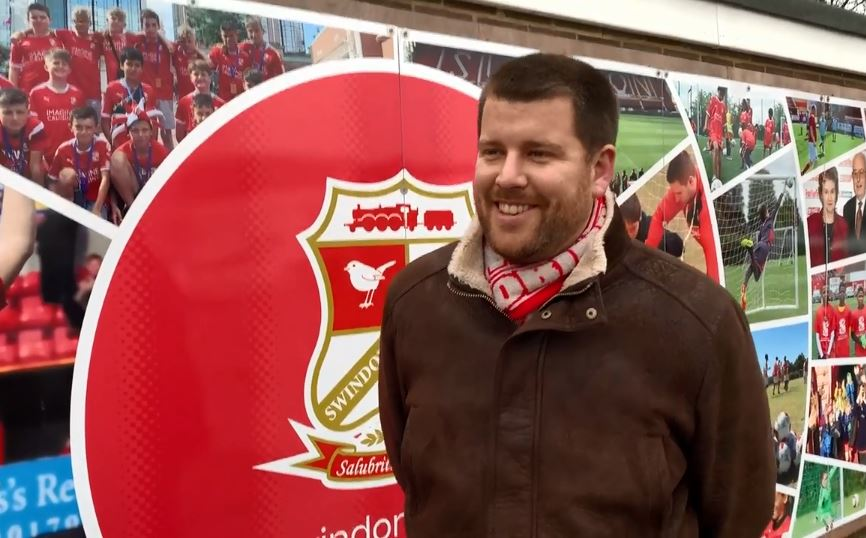Daniel Hunt of the Supporters' Trust