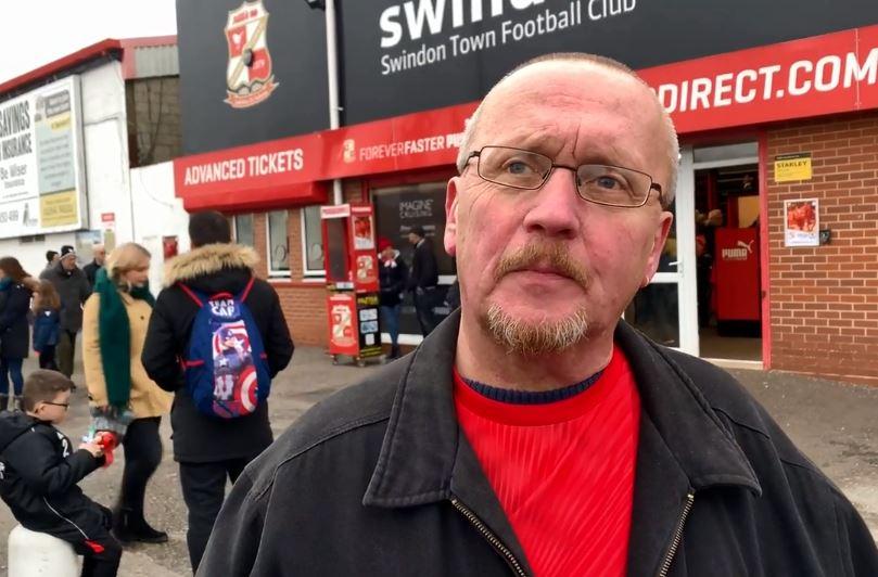 Season ticket holder Andy Nelmes