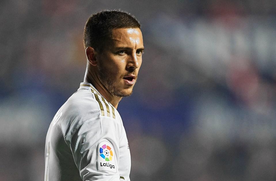 Eden Hazard's injury troubles continue in Spain