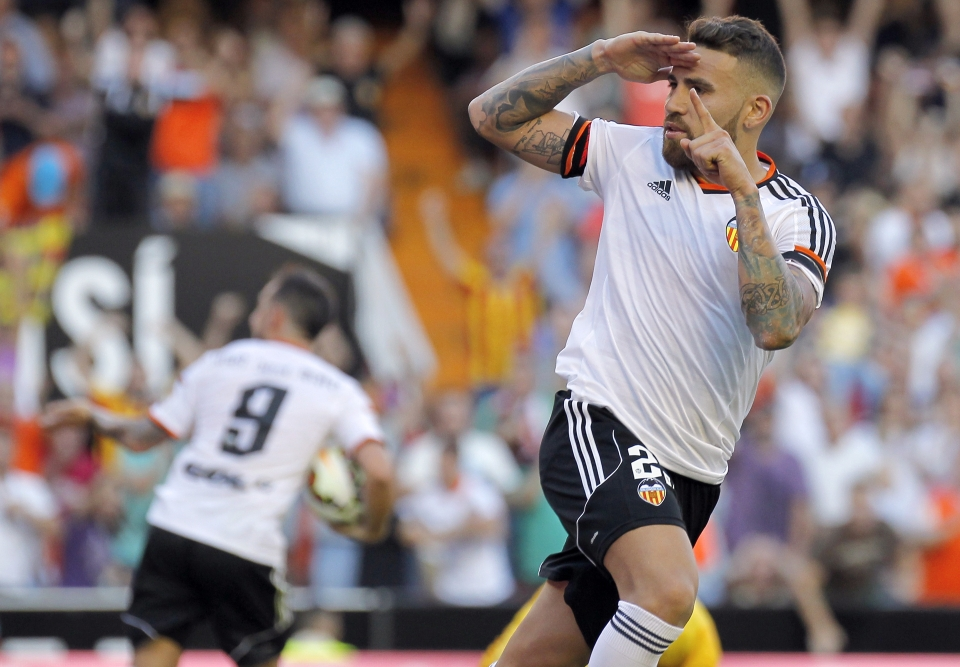 Otamendi was a genuine goal threat for Valencia, netting six goals in just a single season