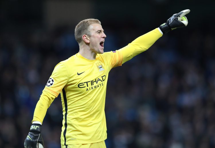 Hart and Guardiola put their differences aside for the year