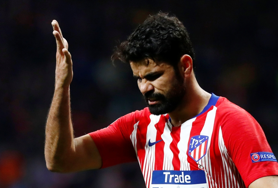 Costa is a shadow of his former self