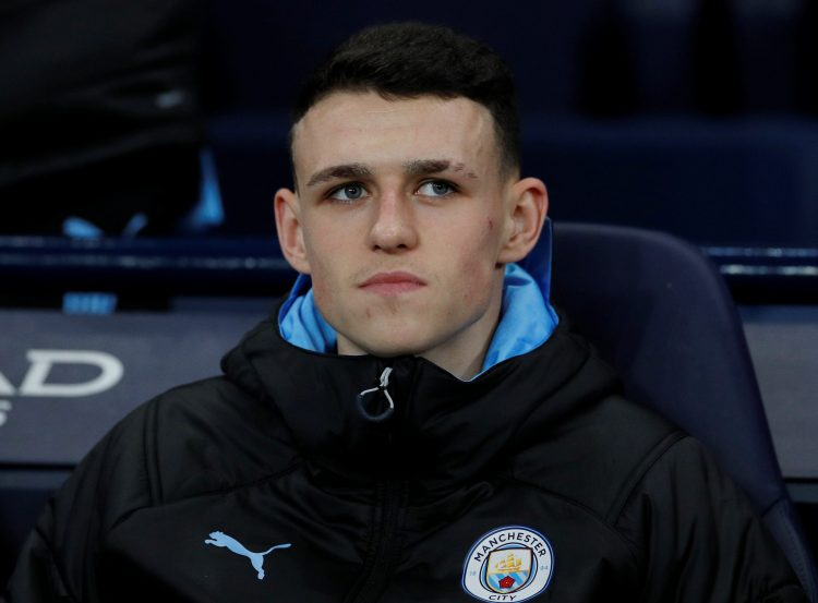 Foden only managed six starts all year