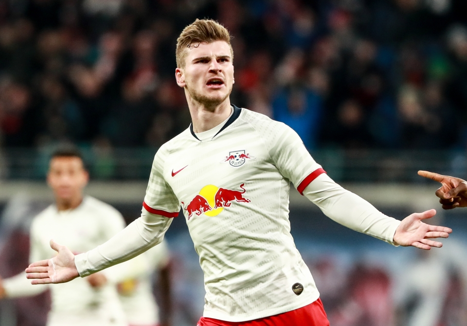Timo Werner has 20 league goals this season