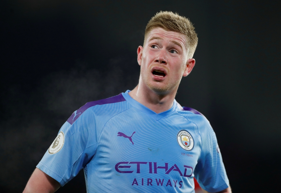 Man City have been under par but De Bruyne is on course to break the record for most assists in a Premier League season