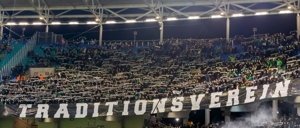 Gladbach fans proudly claim their club to be 'traditional' when facing Leipzig