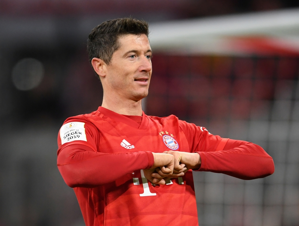 Robert Lewandowski is the only player with more Bundesliga goals than Werner in 2019/20