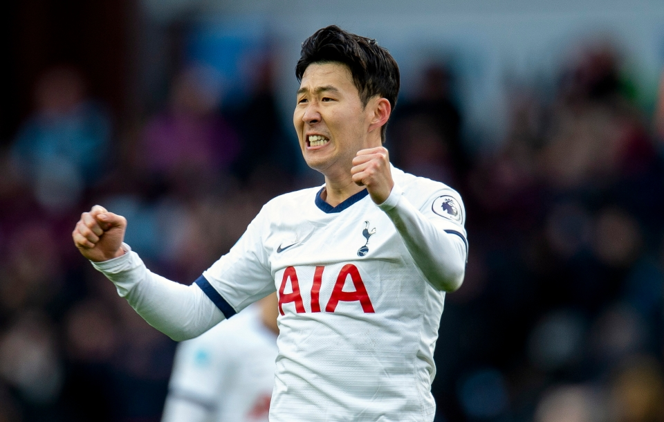 Son is Spurs' highest scoring player