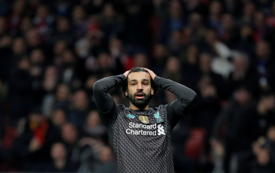 Salah couldn't find a way through