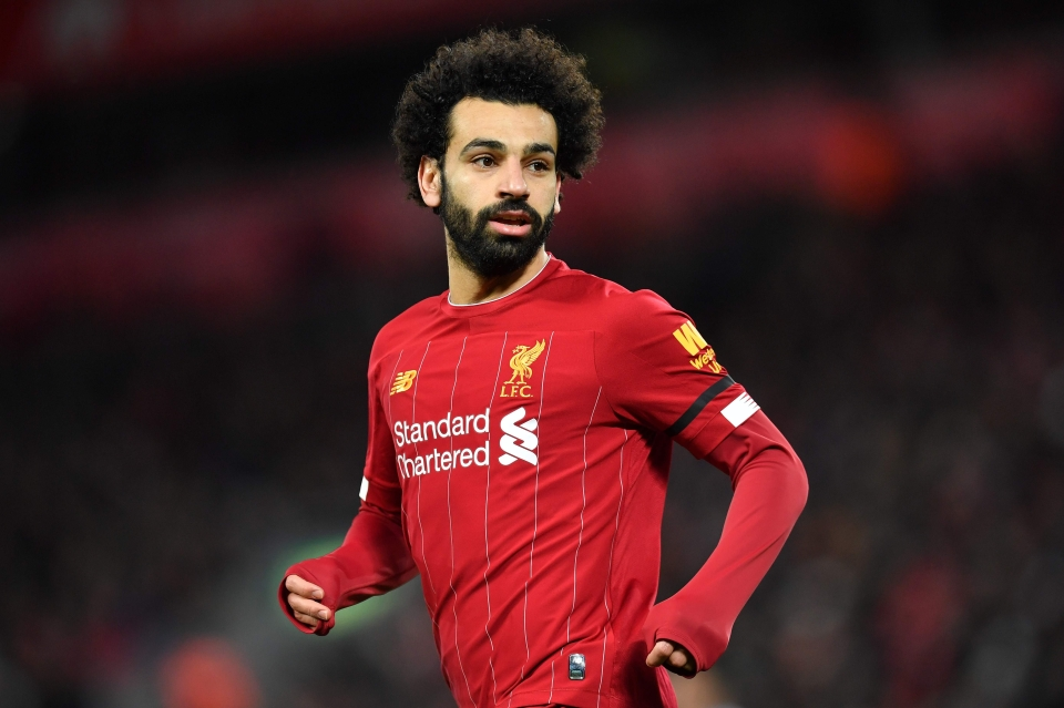 Mohamed Salah has more points than anyone else this season