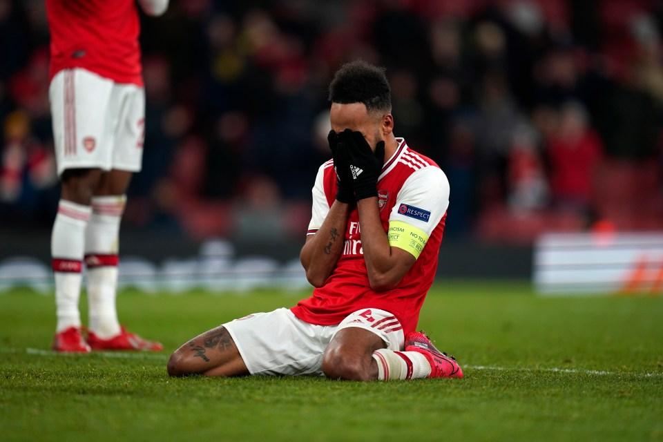 Last minute misery at Arsenal
