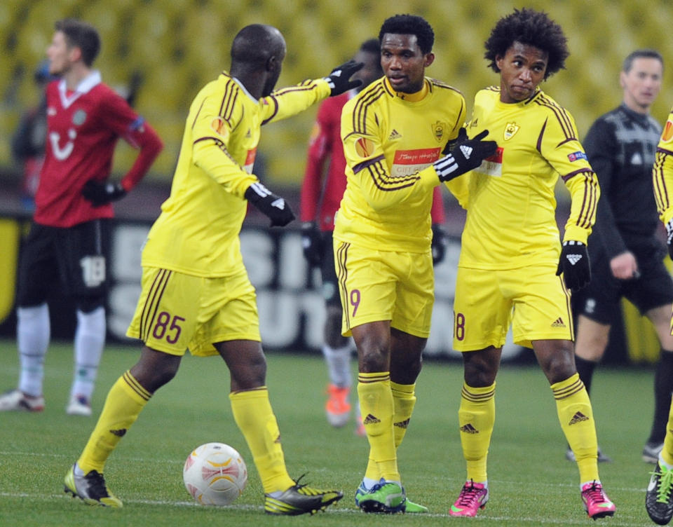 Yep, that's Lassana Diarra with them