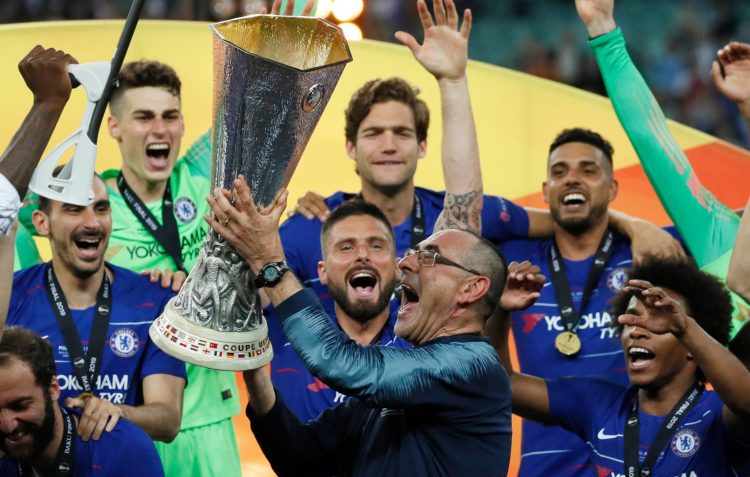 Sarri's time at least ended with silverware