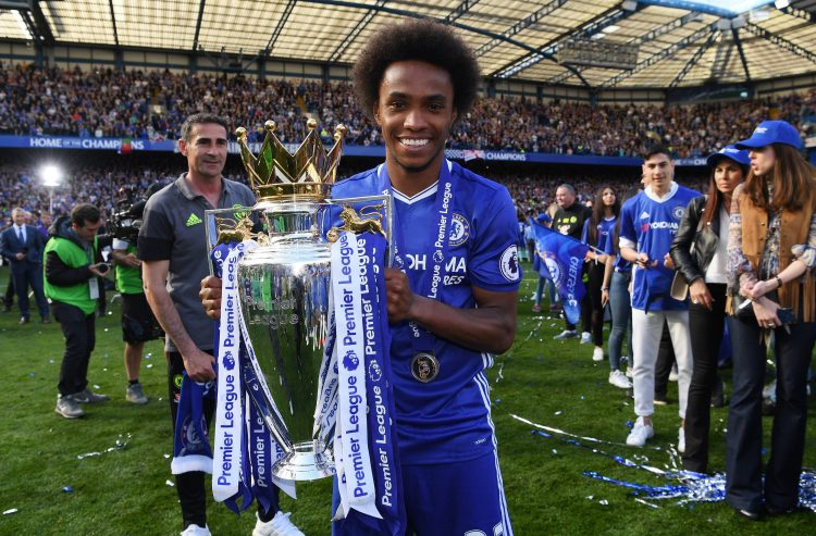 Willian has been with The Blues for eight years