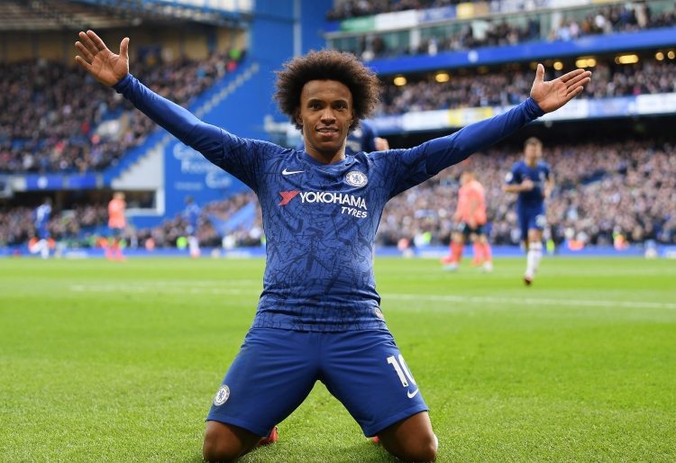 You never know what you're getting with Willian