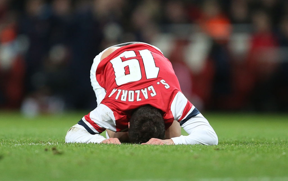 An all too familiar sight in his final days in north London