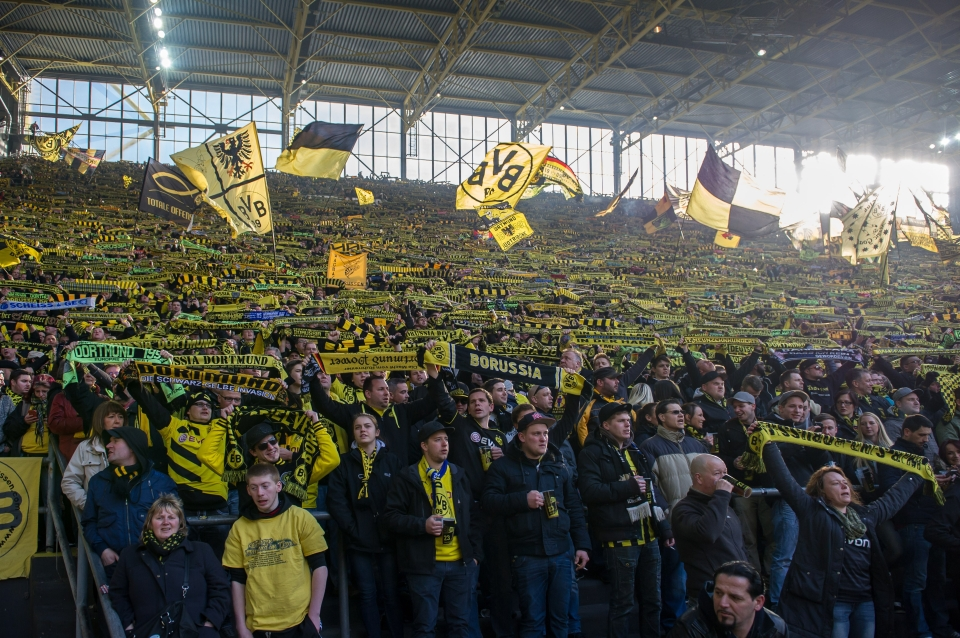Borussia Dortmund's Yellow Wall won't be returning any time soon