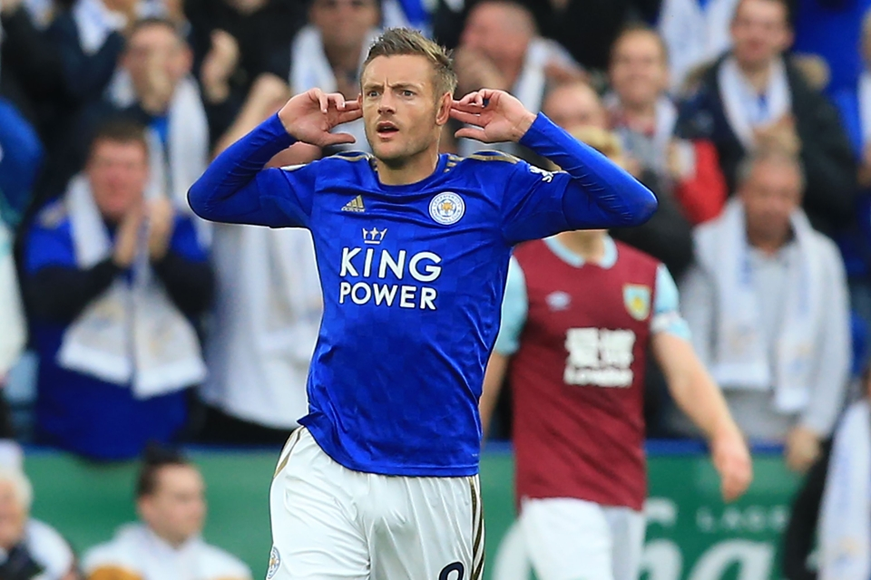 Vardy isn't slowing down, despite turning 33 earlier this year