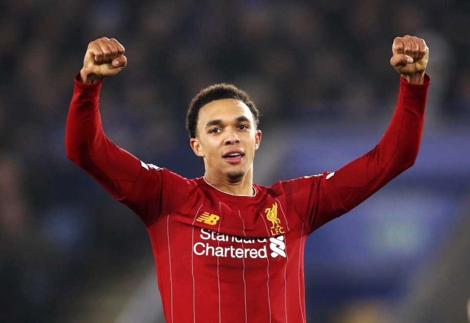 Trent has the largest points tally of any other player aged 21 and under