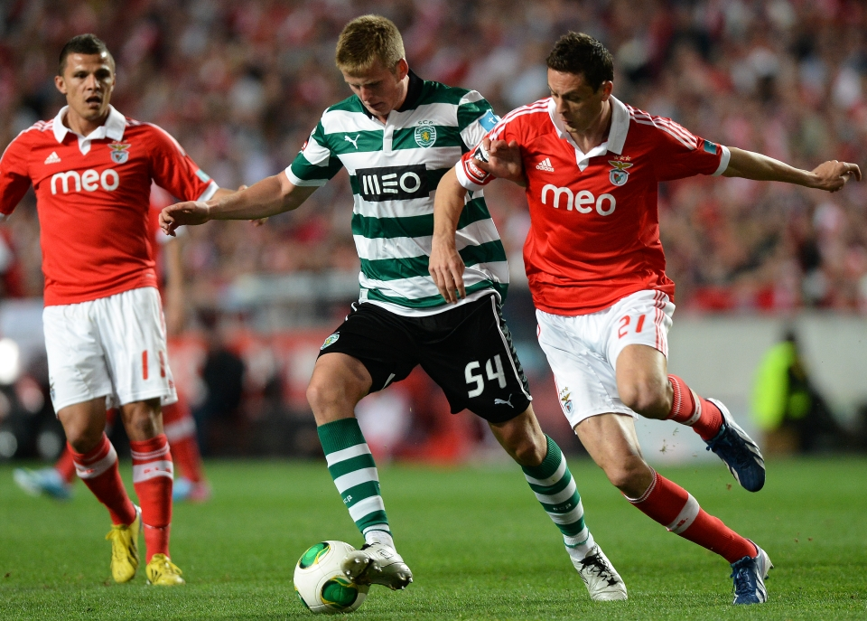 Competing with Nemanja Matic in a Lisbon derby was a chapter in Dier's former life
