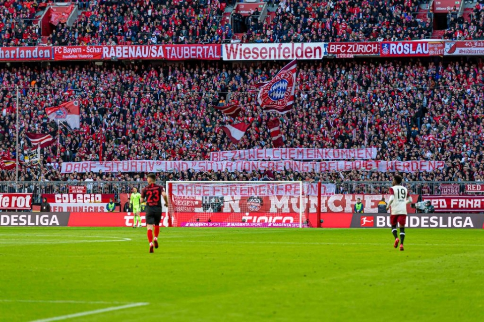 A capacity crowd at the Allianz is a sight to behold