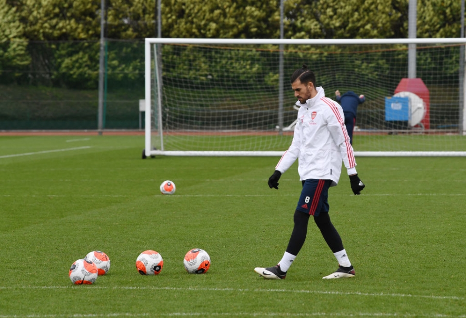Some clubs have already allowed their players to use training pitches on an individual basis