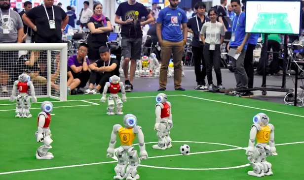 Our vote is for robot football
