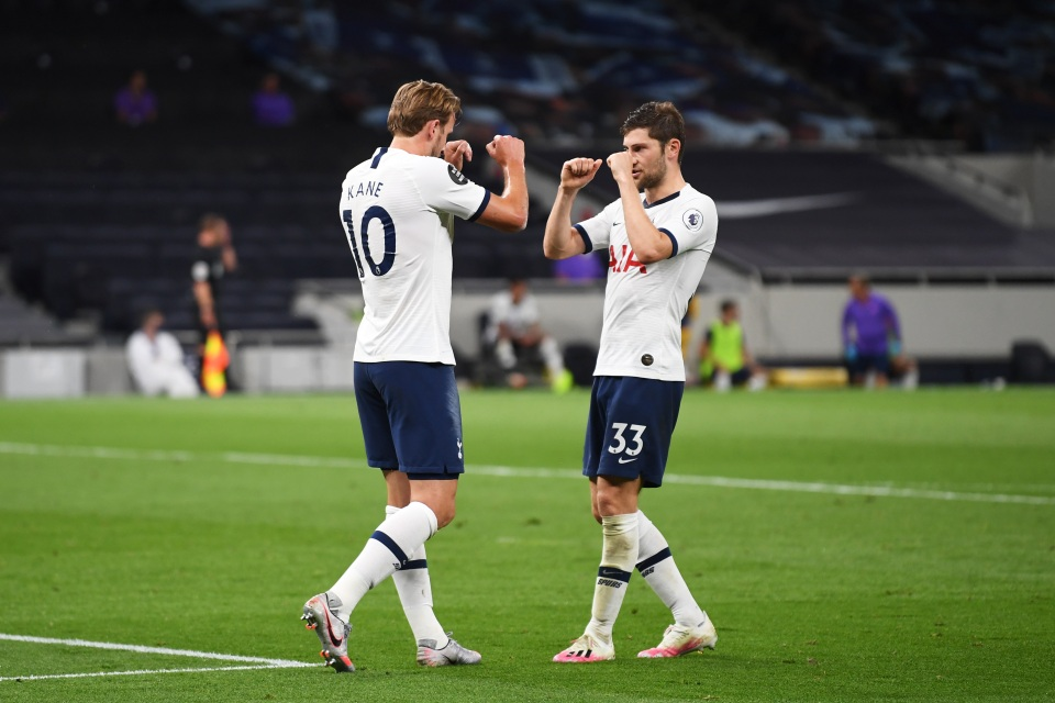 Spurs were back to winning ways against West Ham last Tuesday