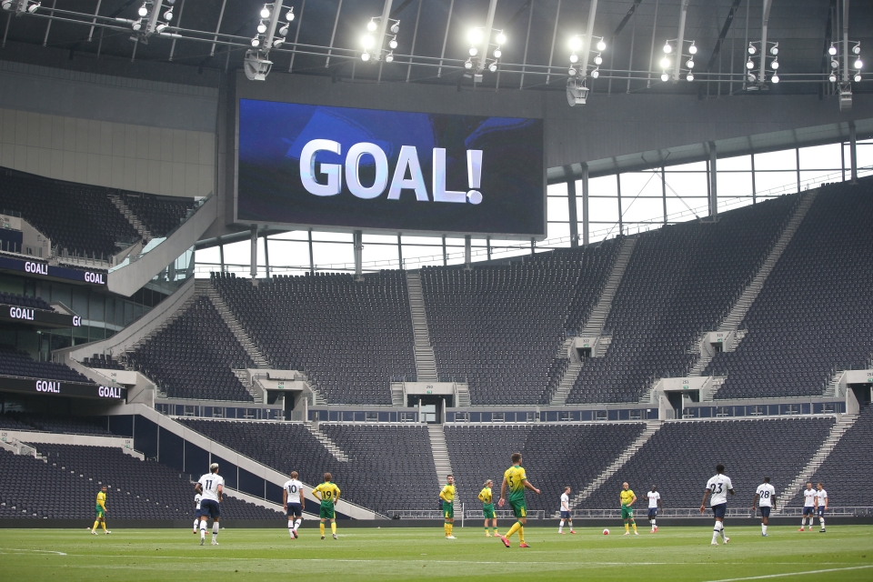 Spurs fell to a 2-1 defeat to Norwich in Friday's friendly.