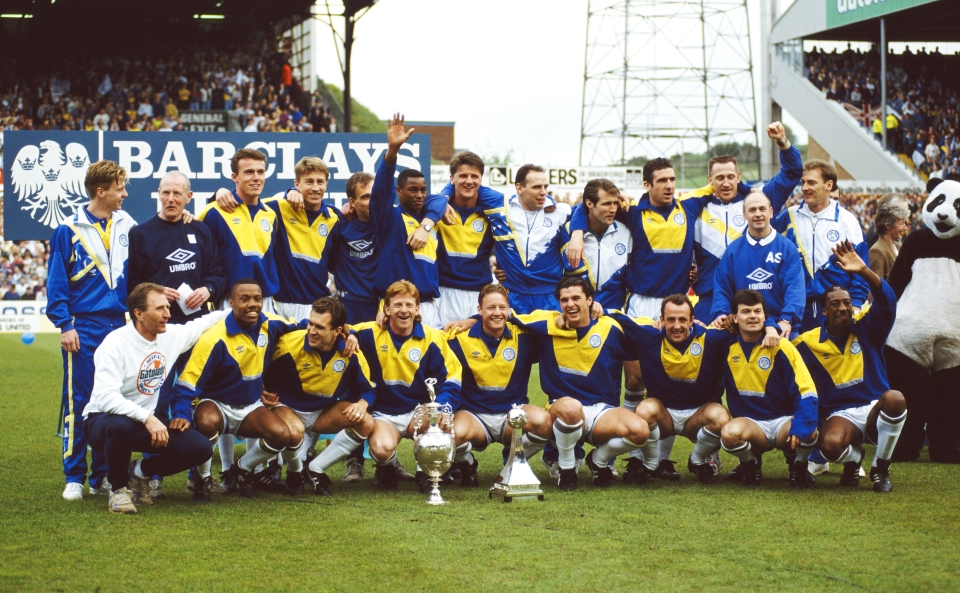 The last Leeds team to win a trophy